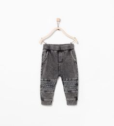 TROUSERS WITH KNEE PATCH from Zara Baby Boys