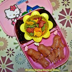 K-Bento version of Octodogs and Crabs