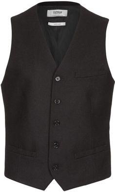 Flannel Suit Vest by Topman - Topman indeed mm-hmm.