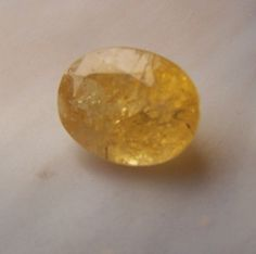Imperial Topaz Gemstone - gemstone faceted from natural crystal - coyoterainbow - orange yellow oval genuine stone ouro preto brazil MBC4