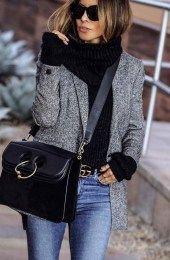 Cute Blazer Outfits Ideas For Women 50
