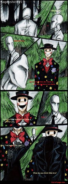 The Gift -Page one- by Cageyshick05 on deviantART