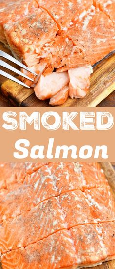 Learn how to make hot smoked salmon! It's so easy and the results will always come out juicy, tender, and flavorful. Learn how to make the best hot smoked salmon right here with as many tips as think of. All you need is fresh salmon with skin on, salt, sugar, pepper, your smoker and a few things around the kitchen. #salmon #seafood #fish #smoked #hotsmoked Best Seafood Recipes, Fish Recipes, Real Food Recipes, Easy Family Dinners, Easy Meals, Family Meals, All You Need Is, Easy Dinner Recipes, Breakfast Recipes