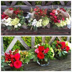 Floral Arrangements, Floral Design, Floral Wreath, Wreaths, Table Decorations, Christmas, Inspiration, Winter, House
