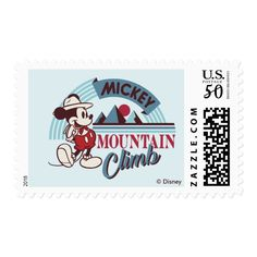 Mountain Club, Disney Tickets, Wedding Postage Stamps, Stamp Making, Printable Stickers, Mail Art, Accent Colors, Mickey Mouse, Best Gifts