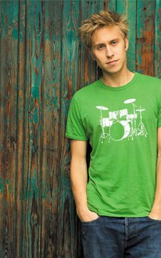 Russell Howard - not exactly the usual 'hot' guy but his personality takes over :)