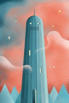 Retrofuturistic Lem Posters by Przemek Debowski