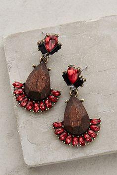 Flamenco Teardrop Earrings #anthropologie