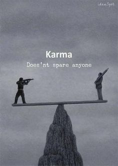 Positive Quotes : QUOTATION – Image : Quotes Of the day – Description Karma. Sharing is Power – Don't forget to share this quote ! Karma Quotes, Attitude Quotes, Wisdom Quotes, True Quotes, Great Quotes, Motivational Quotes, Funny Quotes, Inspirational Quotes, Quotes Quotes