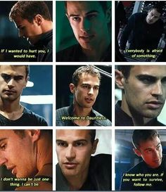 "<4  OMG the book ""FOUR"" tells it in his perspective and he's nothing like what tris thought he was like!"