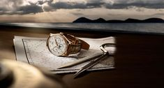 IWC Schaffhausen presents the Portugieser Perpetual Calendar For the first time, the famous IWC calendar complication is integrated in an IWC. Cartier, Gq, 3 O Clock, Perpetual Calendar, Watches For Men, Women's Watches, Omega Watch, Product Launch, Timeline