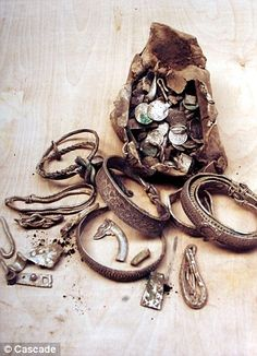 1,000 year old Viking jewellery hoard found in Cumbria UK by a  Mr Webster, find included jewellery and coins, get your metal detectors out!!
