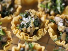 Did you know Silk® has a ton of tasty recipes, like  this one for Spinach Mushroom Phyllo Cups
