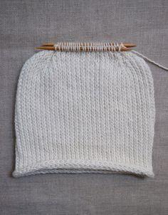 Heel Stitch Hat - the purl bee