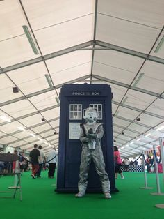 29/08/2013 #Detling Hill County Show-ground. #HerneBay #TARDIS supporting MCCH helped by Peter Trott.