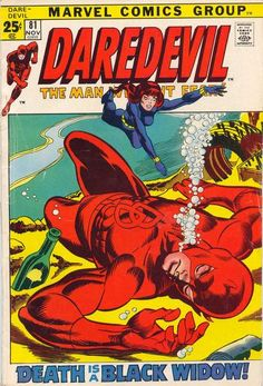"Before ""Iron Man 2"" (Jon Favreau played Foggy in DD's movie), the Black Widow gave Daredevil new life!"