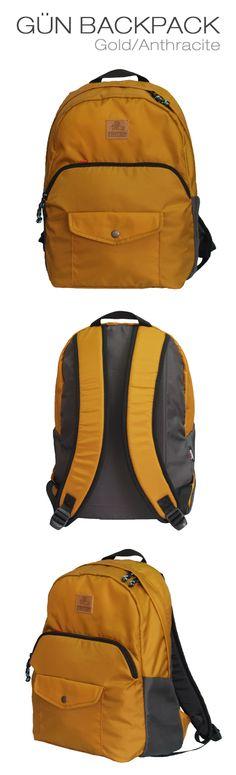 94fdf7c4ba Gün Backpack Gold Anthracite. Myra Bag ...