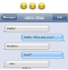 Funny text of the day by a stranger lol text, prank texts, humor texts, lau Funny Shit, Funny Posts, The Funny, Funny Stuff, Hilarious Texts, Funny Guys, Best Funny Pictures, Funny Images, Lol Text