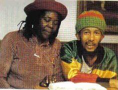 Bob Marley & his mother Cedella... one of his last photos...
