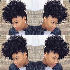 Gorgeous Curly #Updo! @jori.chioma