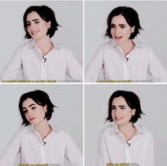 What is Lily Collins #MadeOf?