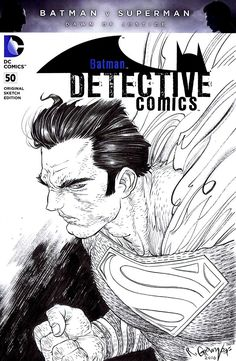 "spaceshiprocket: ""Detective Comics #50 variant cover by Rafael Grampá """