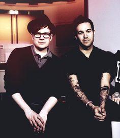 Patrick Stump and Pete Wentz - Fall Out Boy.
