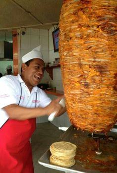 Tacos al pastor. Yuuuuuum~!