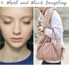 camo meets couture: dewy blush tones