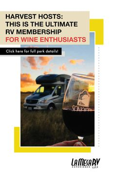 Want To Celebrate National Wine Day Rv Style Harvest Hosts Offers A Unique Rv Overnight Camping Experience At Over 700 W Hosting Best Rv Parks Wine Collection