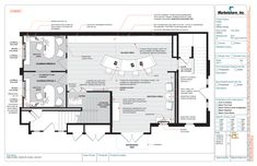 "Your sales office layout will have a 1/4"" scaled space plan of your facility…"