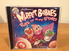 Jim Hensons Muppet Babies Rock It To The Stars CD Kermit Miss Piggy Gonzo #Rock