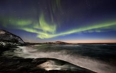 Last dance, Norway, by Thorbjørn Riise Haagensen. #northernlights #auroraborealis