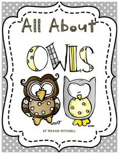 This packet will help your students learn about Informational Text through the study of Owls.  There are two different mini books and several writing and reading activities.  Also included are two fun owl crafts!