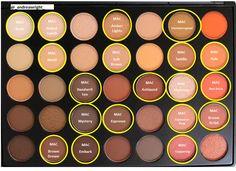 Morphe 35O Palette - MAC Dupes