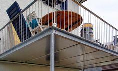 balkon terrasse holzrost gelaender maschendraht 03