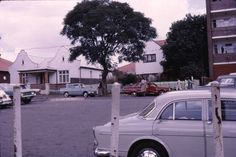 St. Georges Road Yeoville, late 1960's Johannesburg City, Volvo, Worlds Largest, South Africa, Landscape Photography, Cities, Memories, Nostalgia