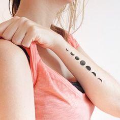 Resultado de imagen para tatuaje ciclos lunares