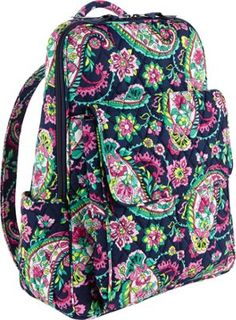 Vera Bradley Ultimate Backpack Petal Paisley - via eBags.com! 7f4952779e0d5