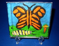 The Migration Project: Craft Ideas Cd Case Crafts, Cd Crafts, Arts And Crafts, Rainbow Crafts, Kindergarten Art, Spring Art, First Art, Craft Activities For Kids, Bricolage