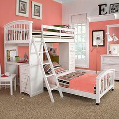 decoracao-quarto-rosa-beliche