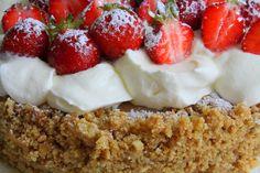 IMG_2505 Fika, Food Cakes, Tart, Cake Recipes, Cake Decorating, Bakery, Cheesecake, Food Porn, Goodies
