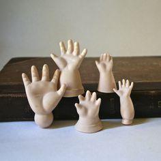porcelain doll hands