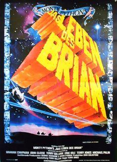 Poster zum Film :  Das Leben des Brian.