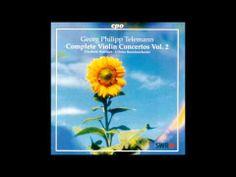 G.P. Telemann Violin Concertos Vol.2  Elizabeth Wallfisch