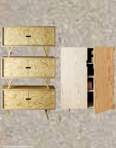 meuble design en osb recherche google am nagements pinterest design. Black Bedroom Furniture Sets. Home Design Ideas