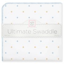Frigid temps where you are? Best use Flannel to Swaddle baby.Ultimate Swaddle by SwaddleDesigns #PremiumAmericanCottonFlannel #ArticBlast