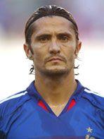 Francia 2004 Lilian Thuram, Fabien Barthez, David Trezeguet, Patrick Vieira, Thierry Henry, Zinedine Zidane, France