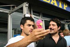 Nik Xhelilaj (left) Actors, Fictional Characters, Fantasy Characters, Actor