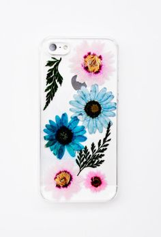 Pressed Flowers iPhone 5 Case   LEIF